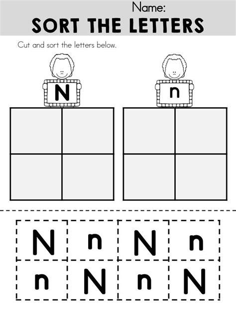 Alphabet Adventures  Letter N  Letter N Activities  Letter N, Lettering, Alphabet