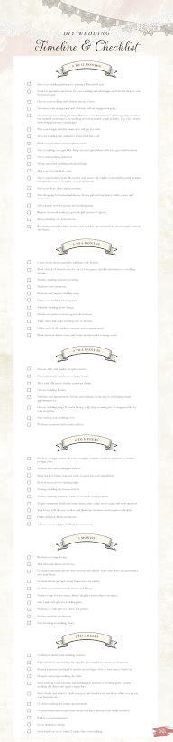 diy wedding timeline and checklist free printable diy