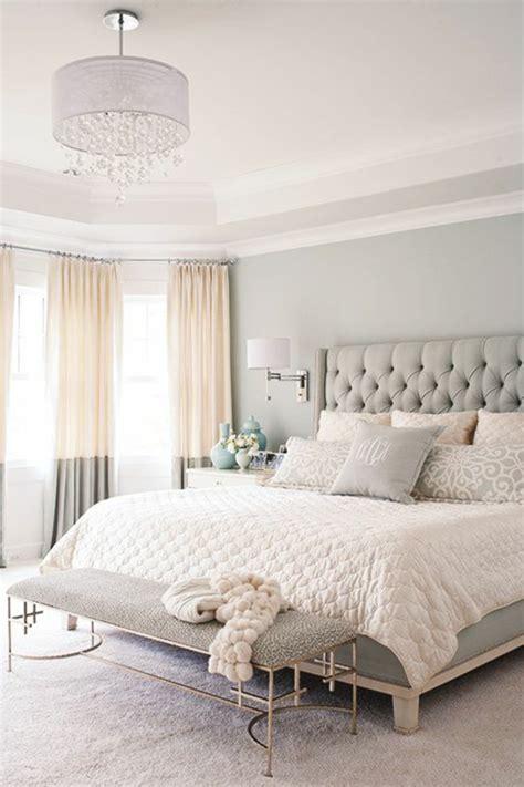 la chambre  coucher fraicheur en gris oui cest