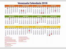 Venezuela calendario 2018 2 newspicturesxyz