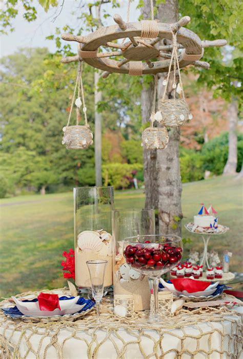 Boat Wedding Decoration Ideas by Nautical Wedding Ideas