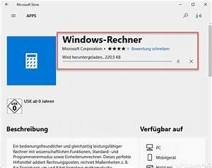 Windows Store Geht Nicht : windows 10 rechner taschenrechner startet nicht mehr deinstallation powershell ~ Pilothousefishingboats.com Haus und Dekorationen