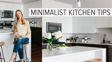 CREATING A MINIMALIST KITCHEN   clean, declutter and