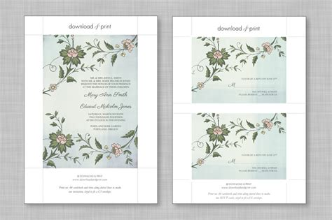 Per Invite Template by Wedding Invitation Envelope Template Word Yaseen For
