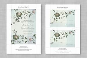 wedding diy free printable invitations rsvp bespoke With wedding invitation template a4
