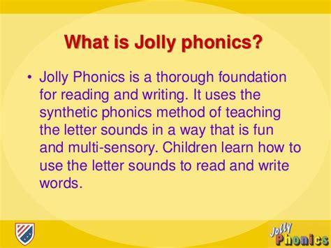 MetodologÍa De Inicial Jolly Phonics