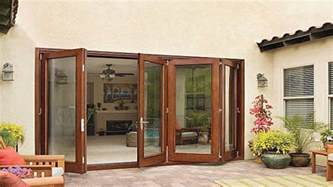 sliding folding patio doors anderson folding patio doors