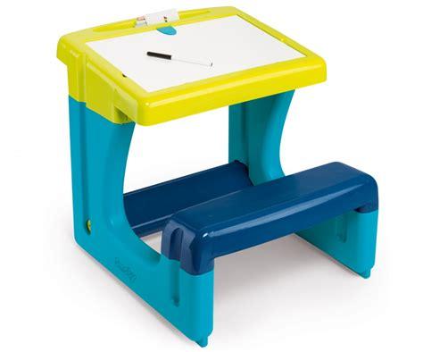 bureau smoby bureau petit ecolier bleu bureaux loisirs créatifs
