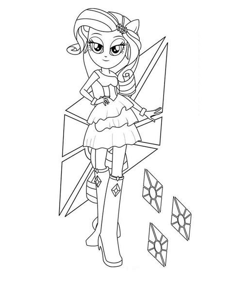 Fluttershy Equestria Kleurplaat by Equestria Rarity Coloring Pages Coloringstar
