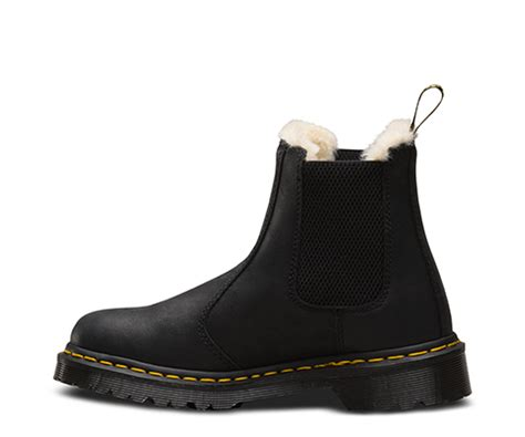leonore fur lined womens official dr martens store uk