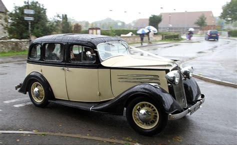 Vintage Car For Weddings In Uckfield