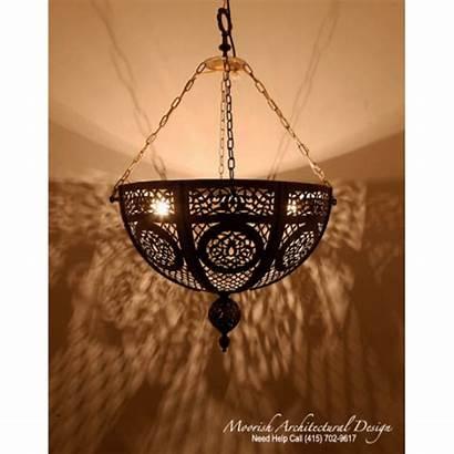 Pendant Lights Moroccan Traditional Pierced Brass Moorisharchitecturaldesign