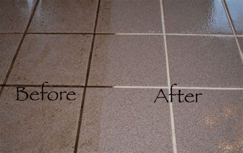 How To Clean Floor Grout In Bathroom by How To Clean Floor Grout Without Scrubbing