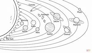 Solar System Drawing Worksheets - Drawing Sketch Picture