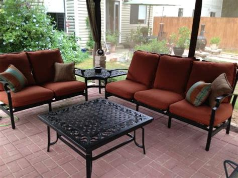 thomasville messina 4 patio sectional seating set