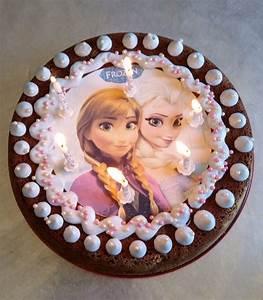 Gateau Anniversaire Reine Des Neiges : un anniversaire reine des neiges avec les copines ~ Melissatoandfro.com Idées de Décoration
