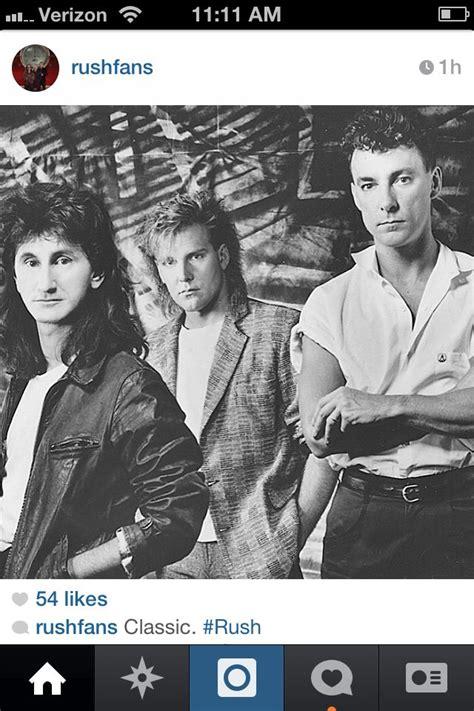 Rush circa 1984 | Rush band, Rush concert, Rush albums