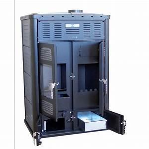 Poele A Granule Mixte : poele hydro 35kw double foyer bi fire klover ~ Dailycaller-alerts.com Idées de Décoration