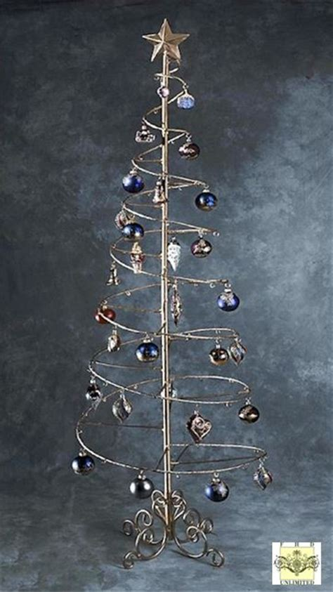 ornament trees spiral wire ornament tree  foot