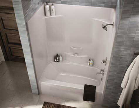 Tub And Shower Combo by One Bath And Shower Stall 54 Inch Wide Tub Combo