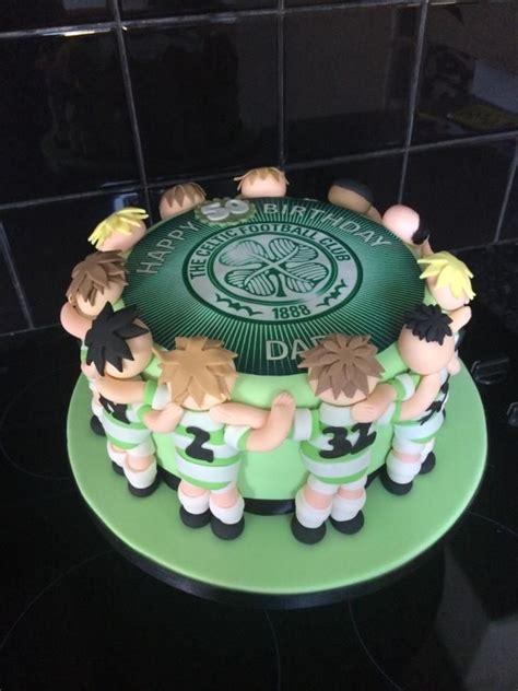 images  celtic cakes  pinterest football
