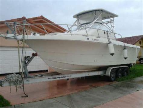 30 Ft Walkaround Boats by 30 Foot Proline Walkaround 30 Foot Fishing Boat In