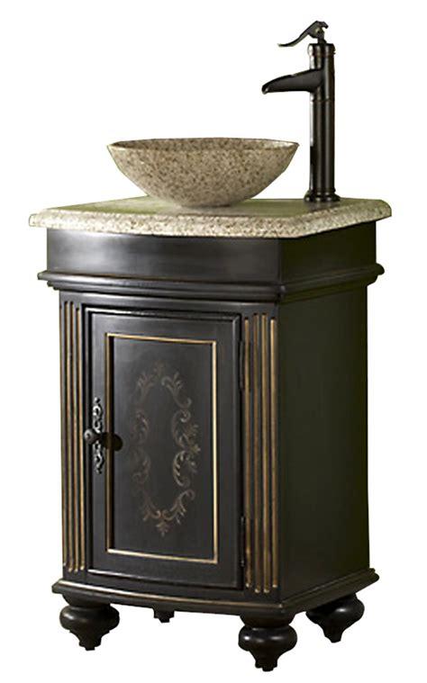 24 inch vessel sink vanity 24in gabriel vanity vessel sink vanity ebony bathroom