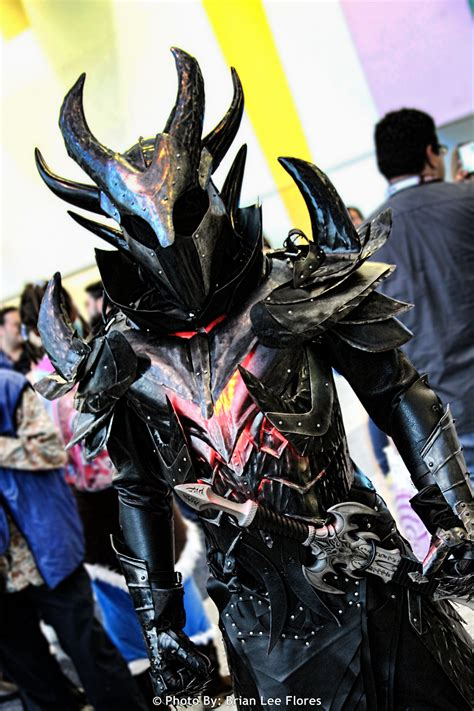 skyrim armor cosplay daedric fus dah ro shout wondercon oblivion every worse friday deviantart kotaku costumes than way costume deadric