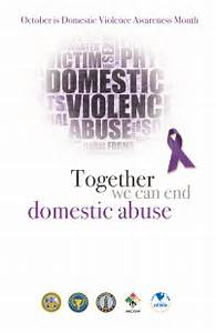 File:United States Military, Domestic Violence Awareness Month Poster ... Domestic Violence