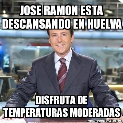 Jose Fernandez Meme - meme matias prats jose ramon esta descansando en huelva disfruta de temperaturas moderadas
