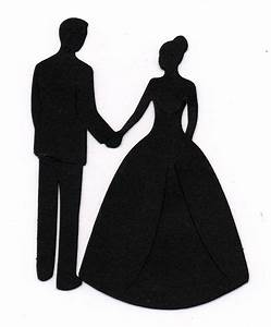 Bride And Groom Clipart Black And White | Clipart Panda ...
