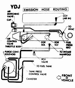 89 Throttle Body Hose Connections