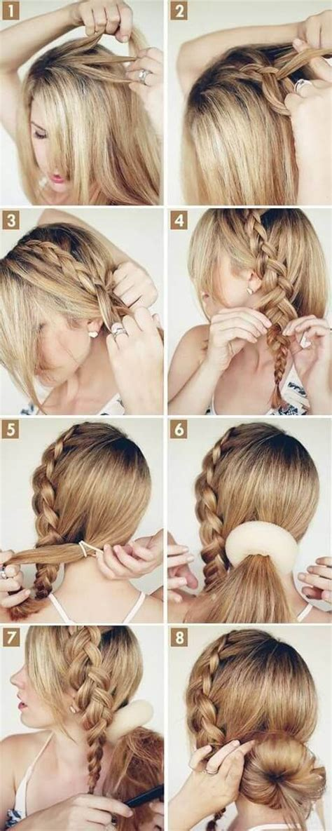 step  step side bun hairstyles tutorials   love