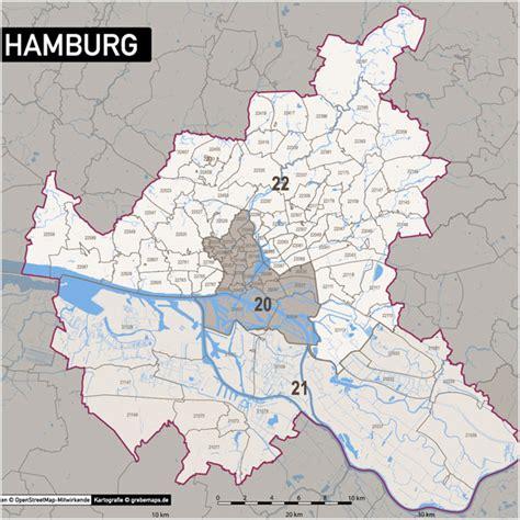 Karte Mit Postleitzahlen
