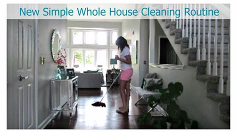 My New Whole House Cleaning Routine  Clean With Me Vlog