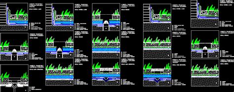 details  covers  garden dwg detail  autocad