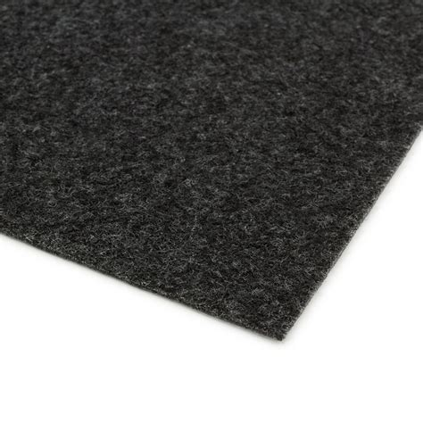 adhesive carpet tiles carpet tile self adhesive needle felt black