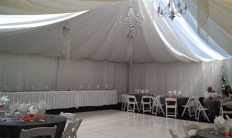 Wedding Drapery Rental by Vigens Rentals Tent Rentals Los Angeles Drapery And