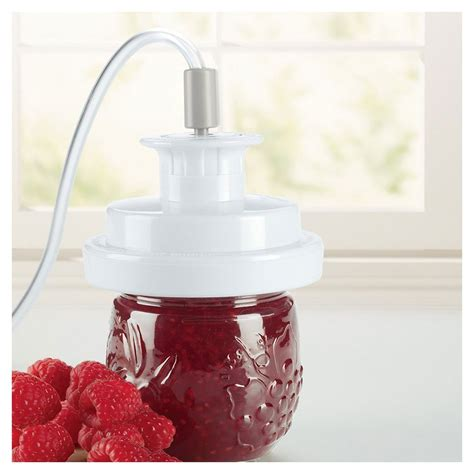 amazoncom foodsaver   p regular mouth jar sealer food savers kitchen dining