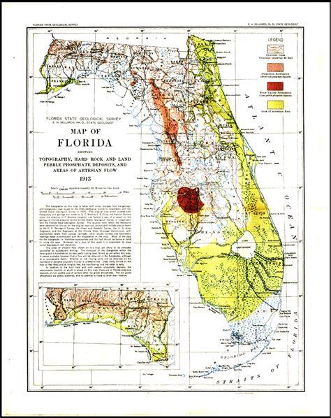 elevation map of florida