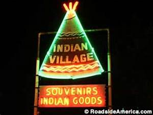 Indian Village St Ignace Michigan