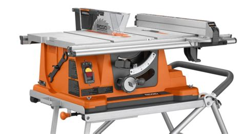 best portable table saw 2017 ridgid r4510 heavy duty portable table saw review 2017