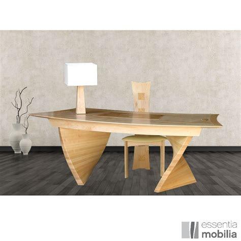 bureau de créateur haut de gamme bois massif essentia mobilia