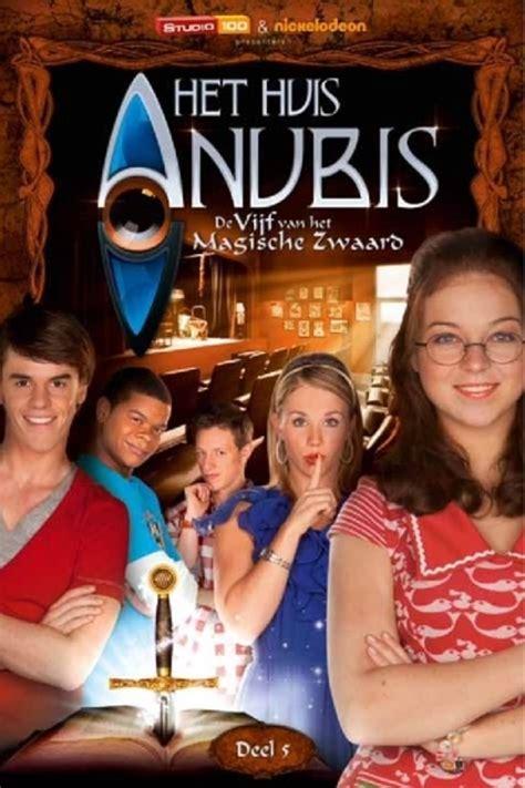huis anubis theatershow bol het huis anubis de vijf van het magische zwaard