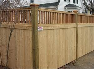 Residential Wood Fence Styles