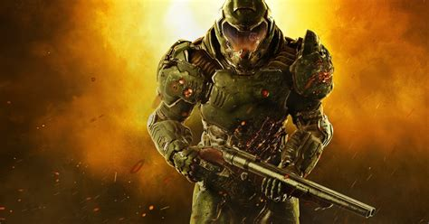 Doom's New 4k Patch Analysed On Xbox One X And Ps4 Pro