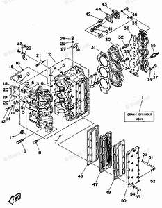 Yamaha Outboard Parts By Hp 85hp Oem Parts Diagram For