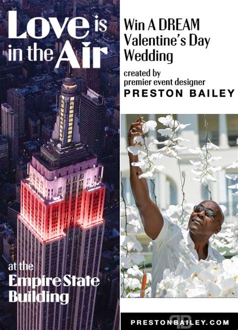 empire state building  preston bailey valentines day