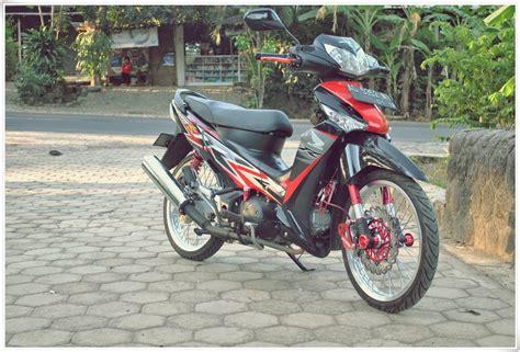 Modifikasi Supra X by Modifikasi Honda Supra X 125 Minimalis Thecitycyclist
