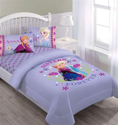 disney frozen nordic summer florals comforter set  fitted sheet